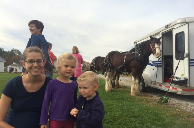 The Moose's Visit, My 27th Birthday, and a Trip to Prophetstown
