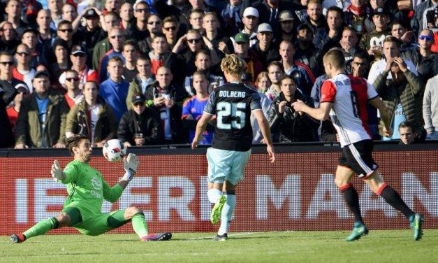 Ajax en Feyenoord delen de punten