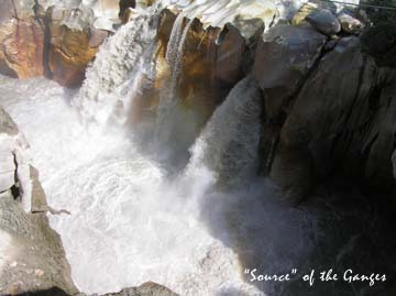 Retreat at the source of the Ganga