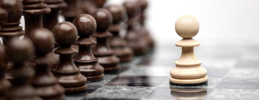 2 El estado actual del juego del ajedrez.