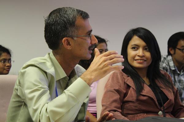 2010 Fellows at one of the regular seminars.