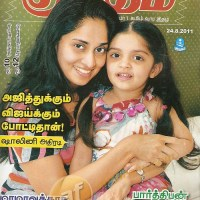 """Ajith and Vijay are Competitors"" - Shalini Ajith's Athiradi Interview to Kumudam"