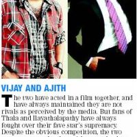 Ajith and Vijay - Friends Forever