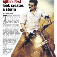 Ajith's First Look Create Storm