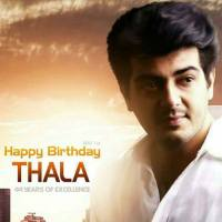 Wish You Happy Birthday Thala