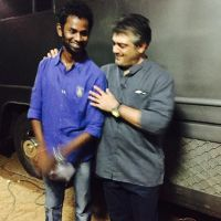 Actor Ramesh Thilak With Ajith Pictures