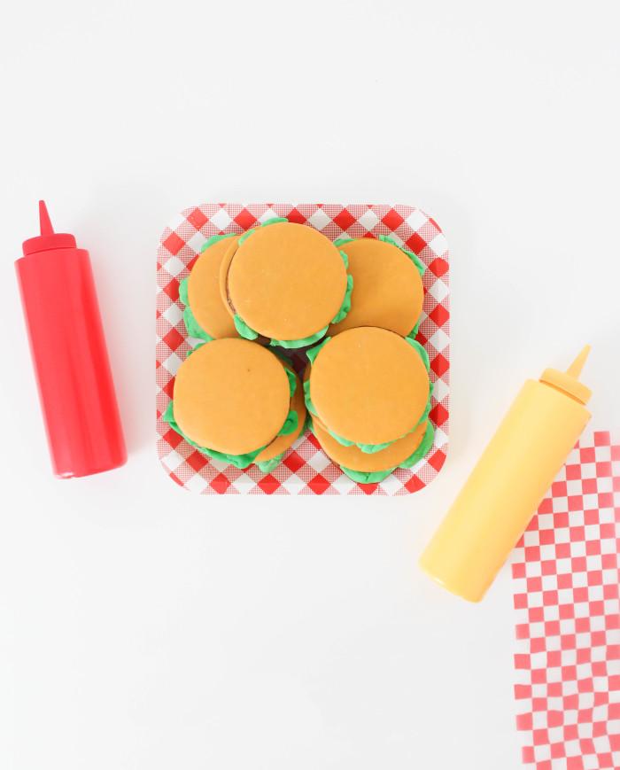 moon pie cheeseburgers by A Joyful Riot