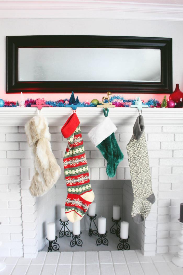 Whimsical Toy Stocking Hanger DIY-11