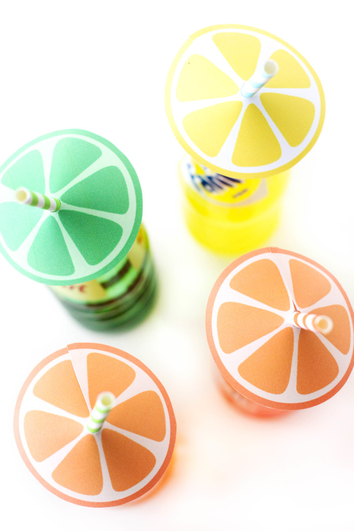 Citrus Straw Umbrella free printables from @ajoyfulriot-10