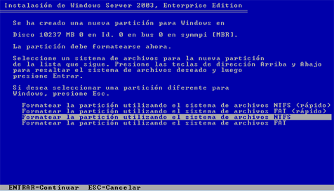 Windows Server 2003 Enterprise Edition Sp2