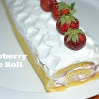 Recipe: Strawberry Cake Roll