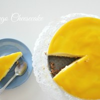 Eats / No Bake Mango Cheesecake