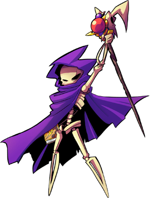 Mabon is actually a powerful Lich! Her skill with sorcery is a force to be respected!