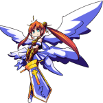 Beatrix! A mighty seraph with a strong sense of absolute justice!