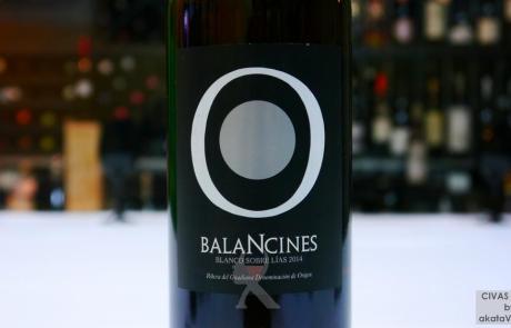 Balancines blanco sobre Lías 2013 Top 10 Mejores Vinos en España 2016 © akataVino.es