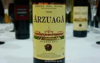 vino arzuaga crianza 2013 © Guía AkataVino