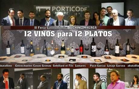 Cartel Evento 12 Vinos para 12 Platos Sinfonias Picking Malaga @ akatavino (1 (2)