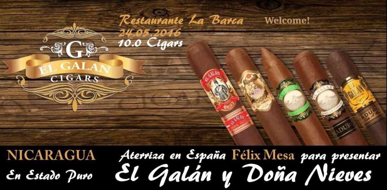 Cartel Presentacion Felix Mesa Malaga