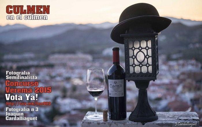 Concurso Verema fotografia Joaquin Cardalliague Botella LAN CULMEN Vota Ya