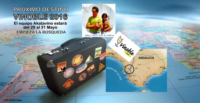Equipo Akatavino viaja a Vinoble 2016 web