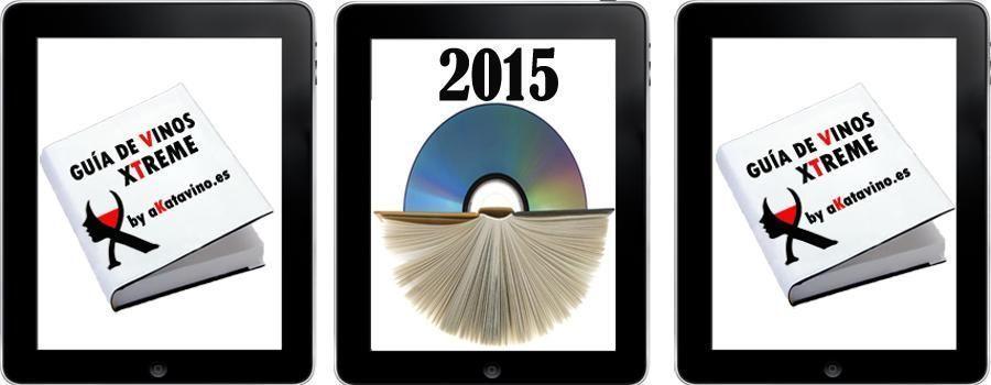 Portada Guía de Vinos Xtreme 2015 Descarga by akataVino