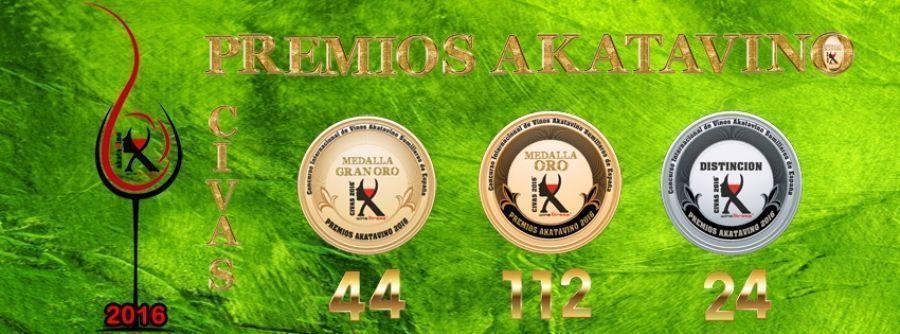 Portada Premios akataVino Medallas