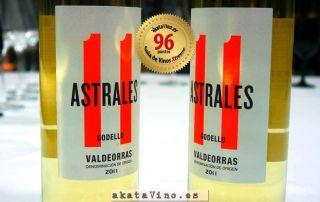 Vino Astrales Godello 2011 96 puntos © Guía AkataVino