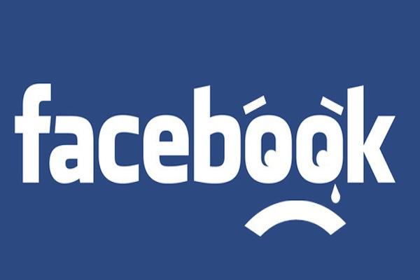 Facebook bikin sedih