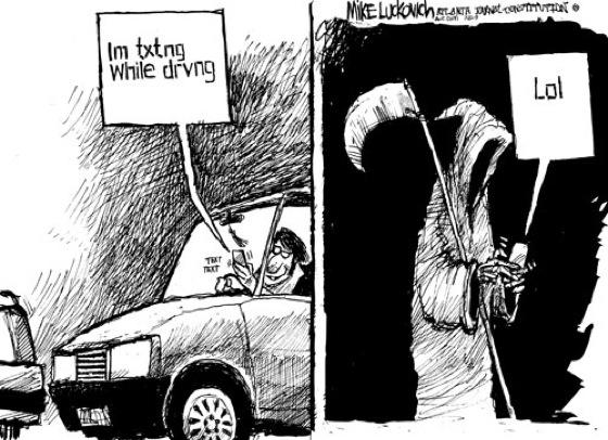 SMS sambil berkendara 1
