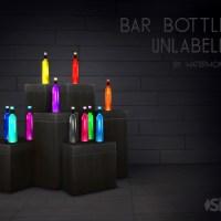 Bar Flaschen - ohne Label