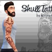 Skull Tattoo für Männer