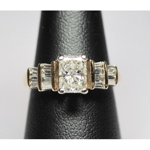 Medium Crop Of Radiant Cut Engagement Rings