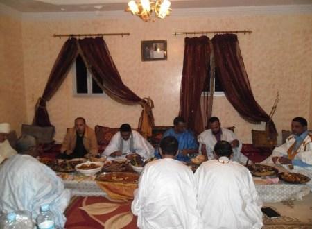 حفل عشاء بالبيت العامر للدكتور ناجي محمد الامام