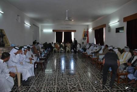 معايدة قبائل الانصار بعيد الاضحى المبارك العراق