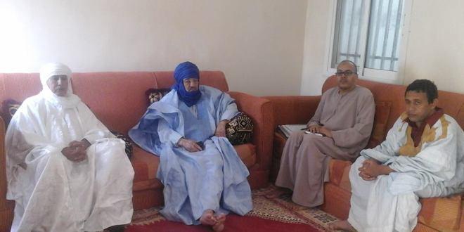 """تصوير الحلقة الاولى من برنامج """" على خطى الانصار"""" بموريتانيا"""