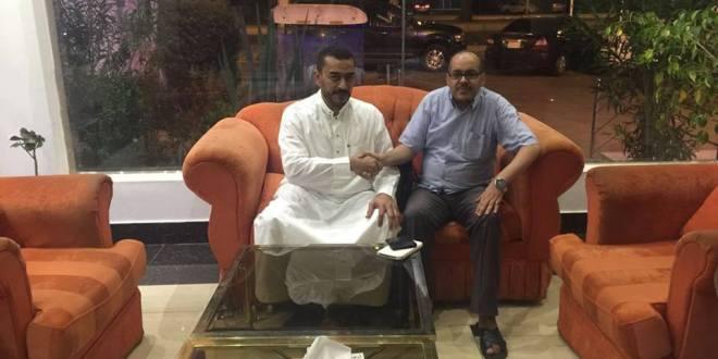 لقاءات مدير بوابة الانصار العالمية بمحافظة جدة