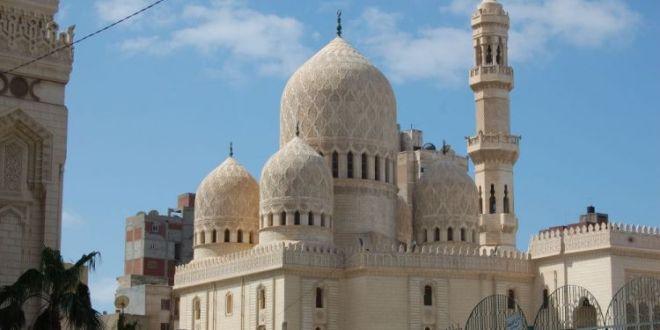 جامع الأمام ابو العباس المرسي الخزرجي الانصاري بالإسكندرية