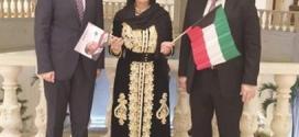 الشيخة مريم بنت اسماعيل الأنصاري  حرم  الشيخ علي صباح الناصر الصباح رحمه الله تعالى