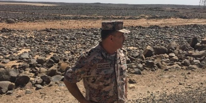 الباشا العميد ركن دورع (général de brigade ) محمد موسى فلاح الزغول الخزرجي الأنصاري