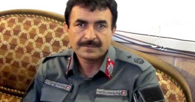 Afghanistan Brigadier general Mohammad Ayub al-anssari