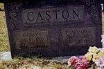 Eva and Jesse Caston Grave