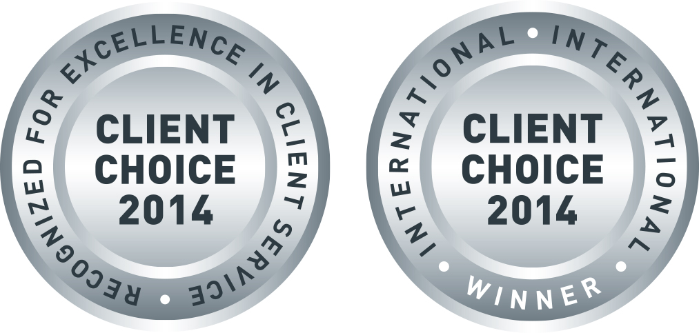 Client Choice Award 2014