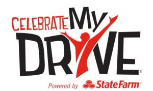 State Farm sponsored the Celebrate My Drive campaign earlier this fall. Graphic courtesy of celebratemydrive.com
