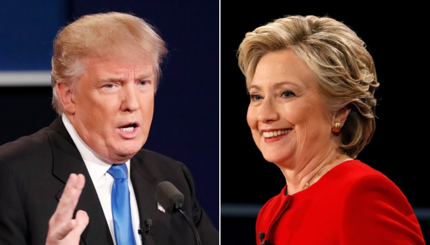 Trump and Clinton met up in three debates this year. Photo courtesy of cbs.com