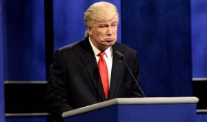 Baldwin portrays Trump on 'SNL.' Photo courtesy of nbc.com