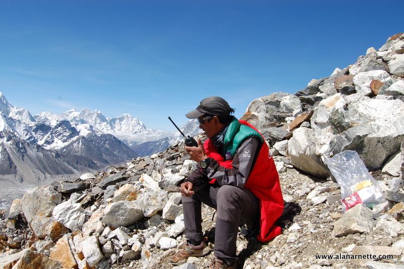 Kami on Everest