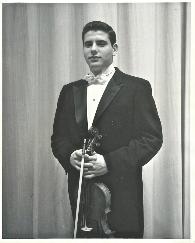 "Alan at his professional ""RECITAL DEBUT"" at age 16."