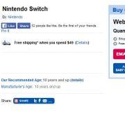 nintendo switch price