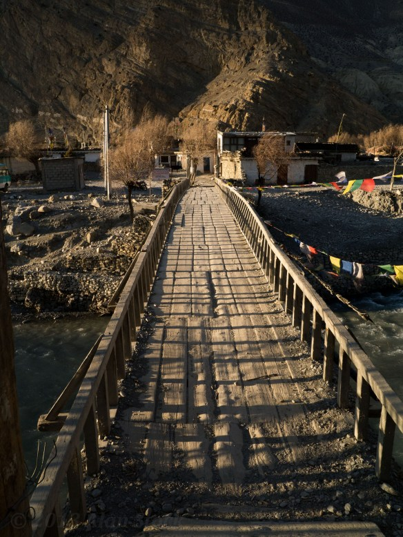Bridge at Jomsom's entrance