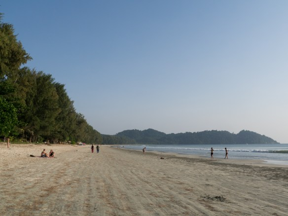 Ao Yai Bay, where I was staying.